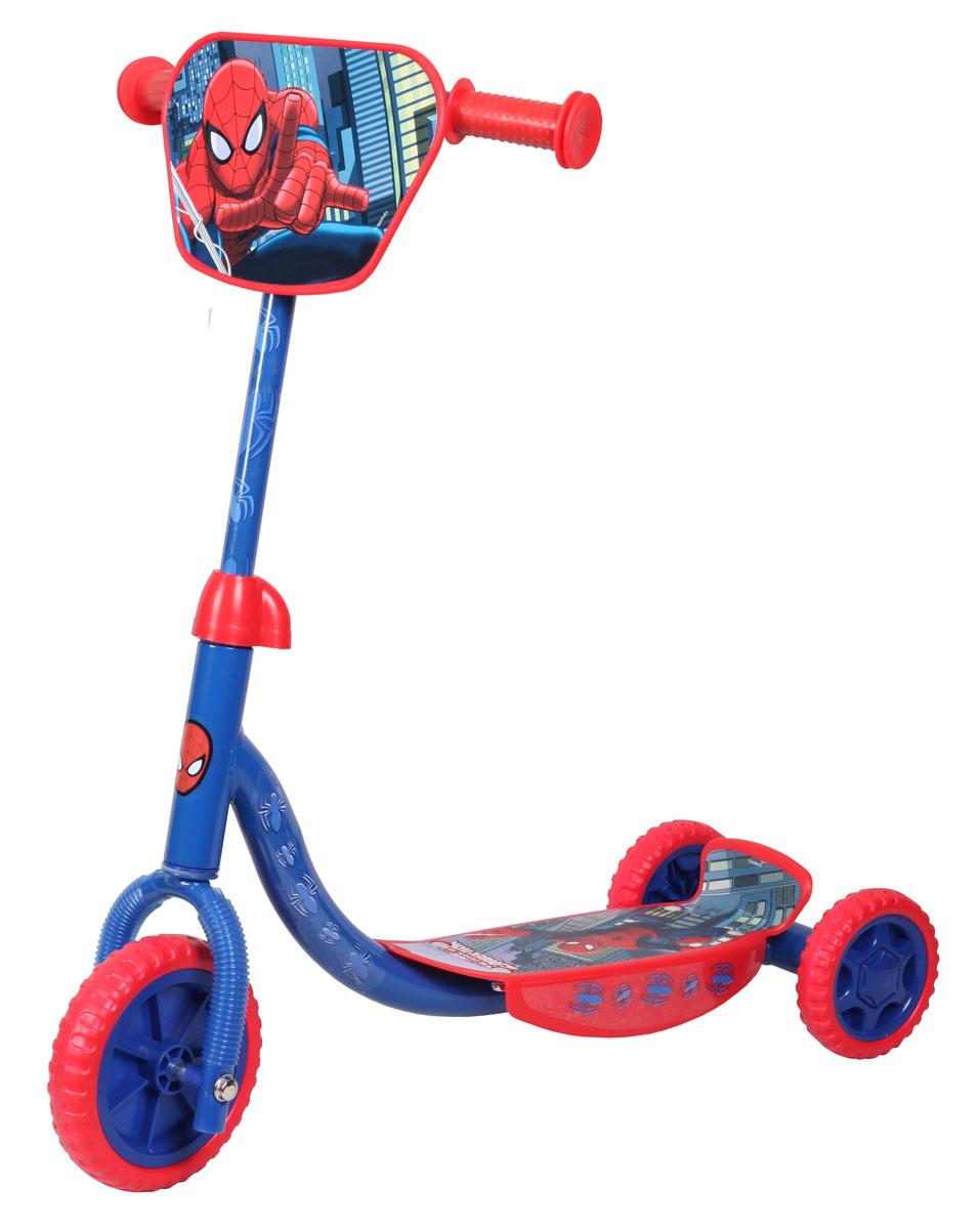 Marvel Spiderman детский трехколесныйJD BUG TC-66 KIDZ SWAYERСамокат Marvel Spider-Man, 3-х колесный. EVA колеса, декоративная панель
