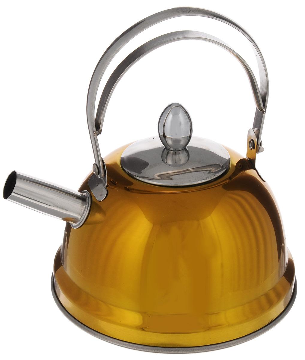 Чайник заварочный Bekker De Luxe, с ситечком, цвет: желтый, 0,8 л. BK-S430115510Чайник Bekker De Luxe выполнен из высококачественной нержавеющей стали, что обеспечивает долговечность использования. Внешнее цветное зеркальное покрытие придает приятный внешний вид. Капсулированное дно распределяет тепло по всей поверхности, что позволяет чайнику быстро закипать. Эргономичная подвижная ручка выполнена из нержавеющей стали. Чайник снабжен ситечком для заваривания. Можно мыть в посудомоечной машине. Пригоден для всех видов плит, включая индукционные.Диаметр (по верхнему краю): 5 см.Высота чайника (без учета крышки и ручки): 8 см.Высота чайника (с учетом ручки): 17,5 см.Диаметр основания: 14 см. Толщина стенки: 0,5 мм.Высота ситечка: 5,5 см.