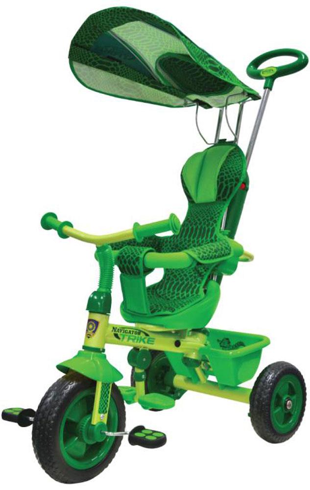Navigator Велосипед детский трехколесный Lexus Trike Сафари цвет зеленый