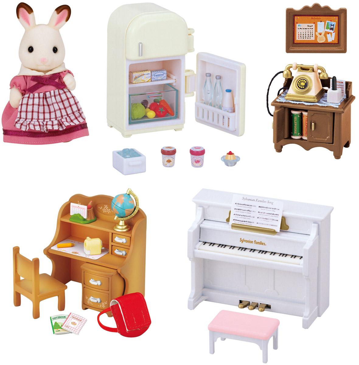 Sylvanian Families Игровой набор Мебель для дома Марии sylvanian families холодильник с продуктами новый