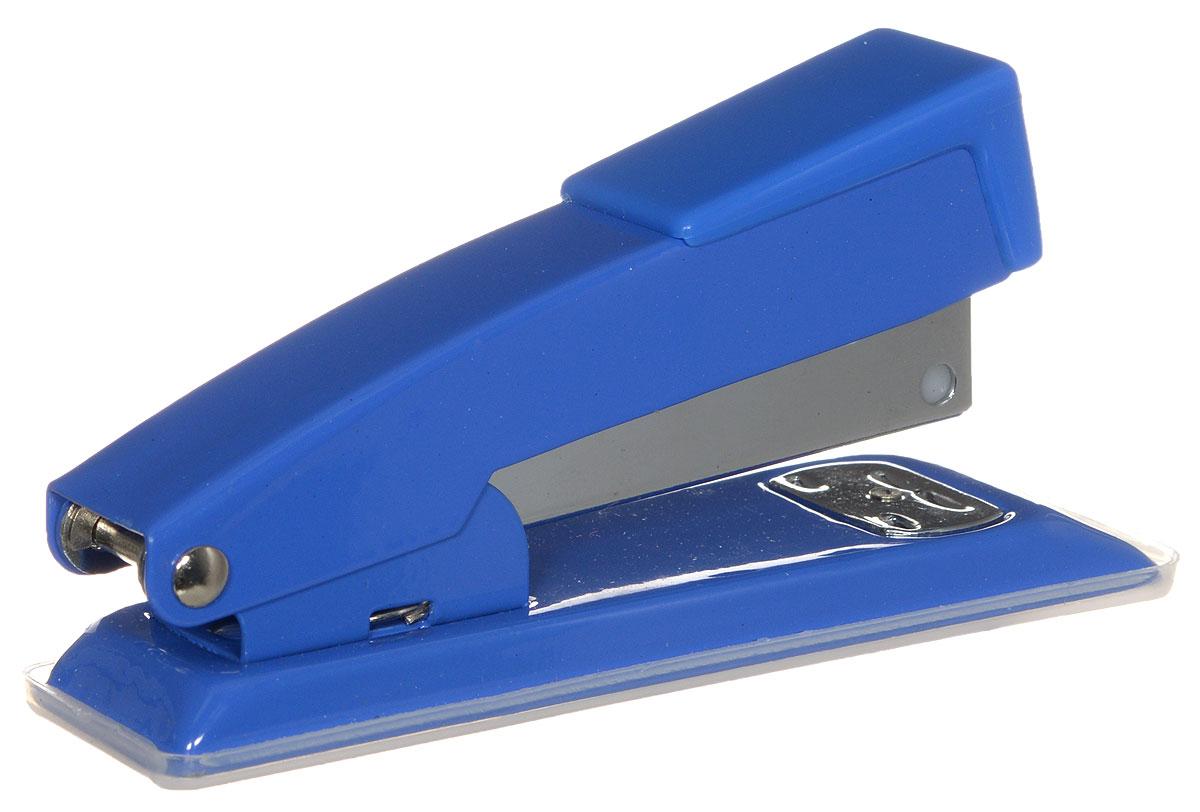 Centrum Степлер для скоб №24/6 26/6 цвет синийCD-99S-327_сиреневыйСтильный, удобный и практичный степлер Centrum - незаменимый офисный инструмент.Он выполнен из пластика с металлическим механизмом. Степлер рассчитан на скрепление 10 листов скобами № 24/6, 26/6.Степлер Centrum с надежным корпусом и эргономичным дизайном гарантирует стабильную и качественную работу в течение долгого времени.