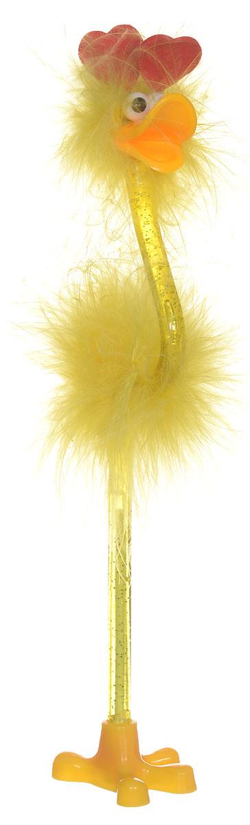 Забавная шариковая ручка-игрушка Flamingo станет отличным подарком и незаменимым аксессуаром на вашем рабочем столе.Ручка, украшенная перьями, выполнена в виде забавной птички фламинго с сердечками на голове. К ручке прилагается подставка в виде лапки. Такая ручка - это забавный и практичный подарок, она не потеряется среди бумаг и непременно вызовет улыбку окружающих.