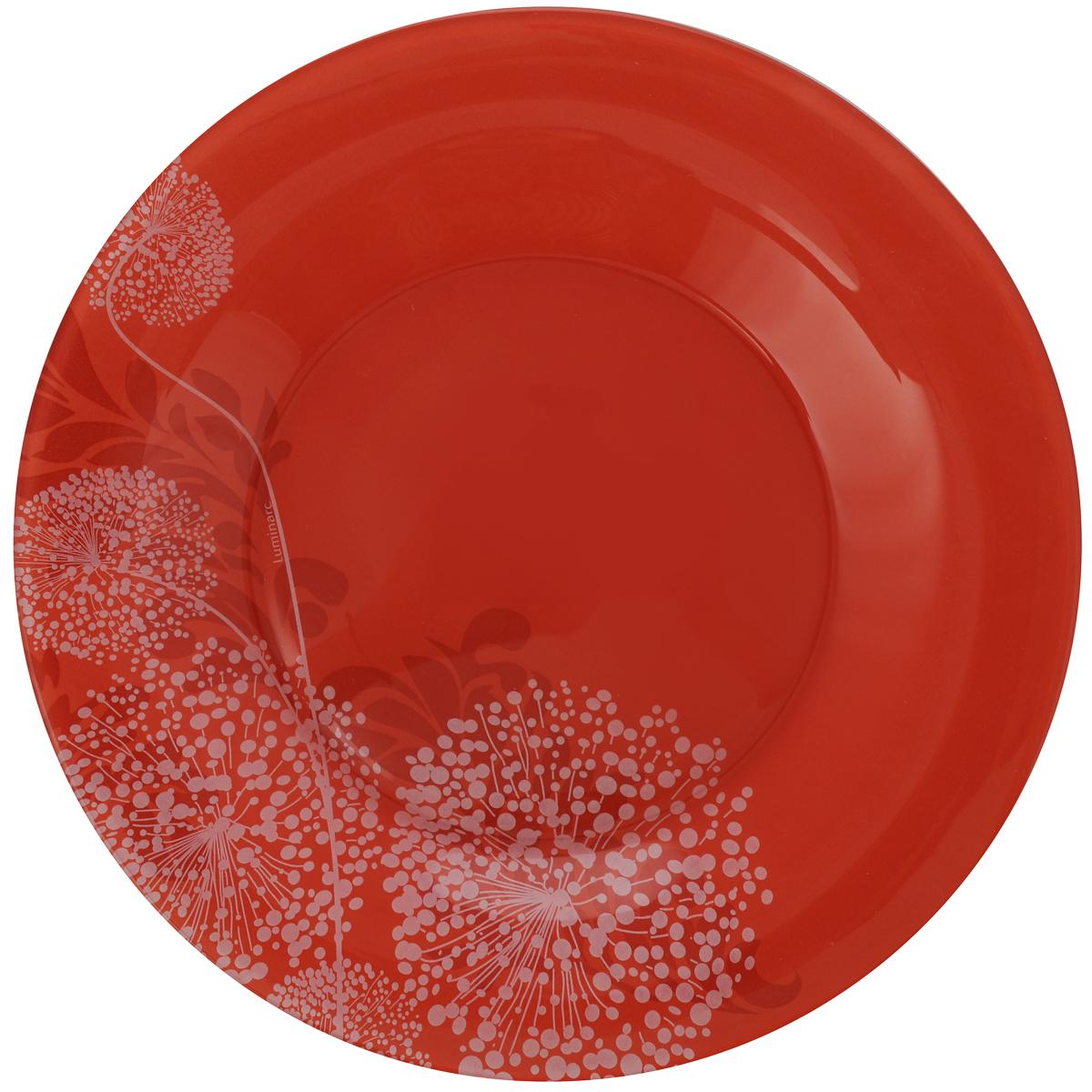 Тарелка десертная Luminarc Piume, диамтер 20 см54 009312Десертная тарелка Luminarc Piume, изготовленная из ударопрочного стекла, декорирована оригинальным рисунком. Такая тарелка прекрасно подходит как для торжественных случаев, так и для повседневного использования. Идеальна для подачи десертов, пирожных, тортов и многого другого. Она прекрасно оформит стол и станет отличным дополнением к вашей коллекции кухонной посуды. Диаметр тарелки (по верхнему краю): 20 см.
