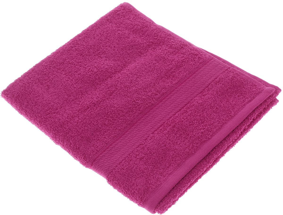 Полотенце махровое Aisha Home Textile, цвет: малиновый, 50 х 90 см1004900000360Махровое полотенце Aisha Home Textile выполнено из натуральной махровой ткани (100% хлопок). Изделие отлично впитывает влагу, быстро сохнет, сохраняет яркость цвета и не теряет форму даже после многократных стирок. Полотенце очень практично и неприхотливо в уходе. Оно создаст прекрасное настроение в ванной комнате.Рекомендации по уходу:- режим стирки при 40°C,- химчистка не допускается,- отбеливание запрещено.