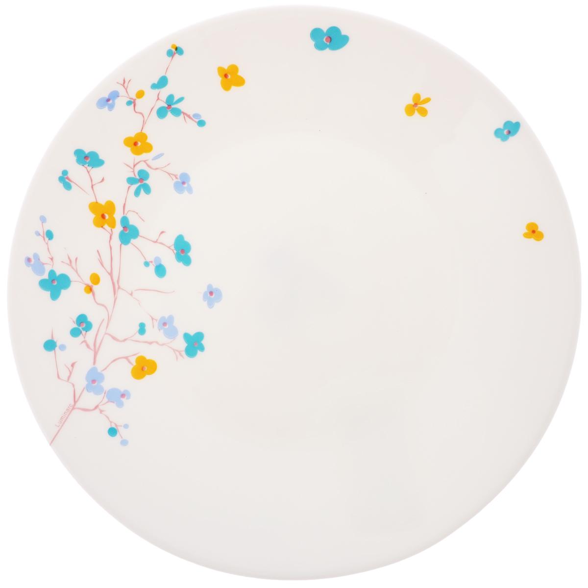Тарелка десертная Luminarc Zen Essence, диаметр 19,5 см54 009303Десертная тарелка Luminarc Zen Essence, изготовленная из ударопрочного стекла, имеет изысканный внешний вид. Такая тарелка прекрасно подходит как для торжественных случаев, так и для повседневного использования. Идеальна для подачи десертов, пирожных, тортов и многого другого. Она прекрасно оформит стол и станет отличным дополнением к вашей коллекции кухонной посуды. Диаметр тарелки (по верхнему краю): 19,5 см.