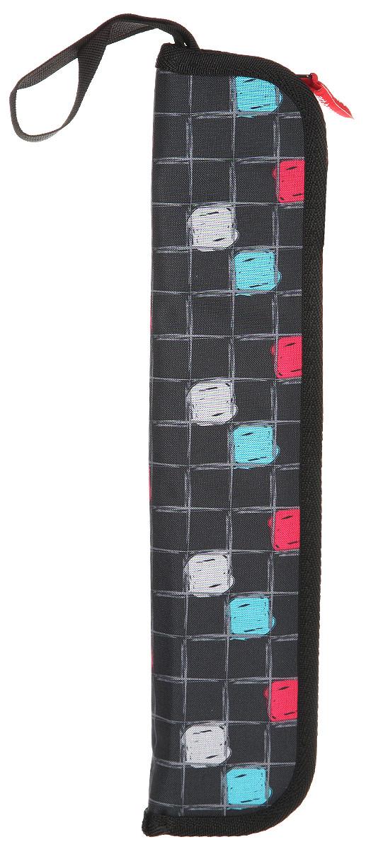 Папка Antan, цвет: черный, графит. 6-50123008Дерзкий и яркий рисунок этого материала сразу бросается в глаза и всегда пользуется большим успехом. С такой папкой Вы всегда будете в центре внимания.
