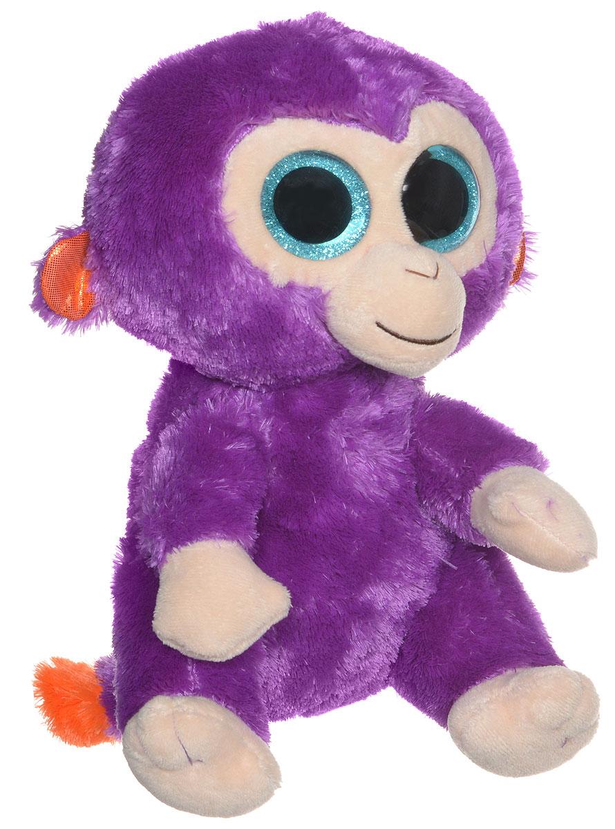цены TY Мягкая игрушка Обезьянка Grapes 22 см