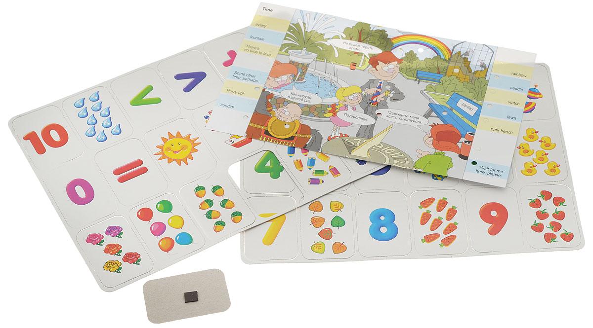 Дрофа-Медиа Игра на магнитах Учись считать! дрофа медиа магнит в коробке карточки с животными на магнитах
