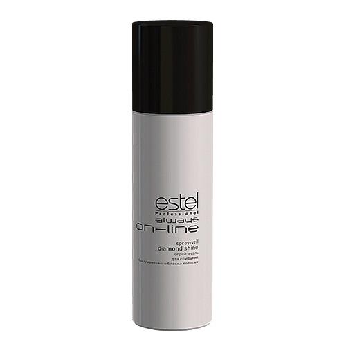 Estel Always On-Line - Спрей-вуаль для придания бриллиантового блеска волос 250 мл00000008972Проблемы волос: Тусклость Инновационный спрей-вуаль для придания бриллиантового блеска волосам (без фиксации) гарантирует:Равномерное идеальное сияниеЗащиту от негативного воздействия окружающей средыБыстрое высыхание при распыленииРезультат: Не только великолепная укладка, но и забота о здоровье волос становятся первым пунктом для ESTEL Always ON-LINE.