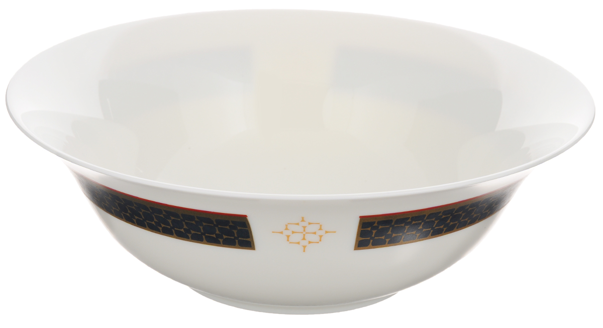 Салатник Luminarc Alto, диаметр 27 смJ1935_орнамент снаружиВеликолепный круглый салатник Luminarc Alto, изготовленный из ударопрочного стекла, прекрасно подойдет для подачи различных блюд: закусок, салатов или фруктов. Такой салатник украсит ваш праздничный или обеденный стол, а оригинальное исполнение понравится любой хозяйке. Диаметр салатника (по верхнему краю): 27 см.Высота салатника: 8,8 см.