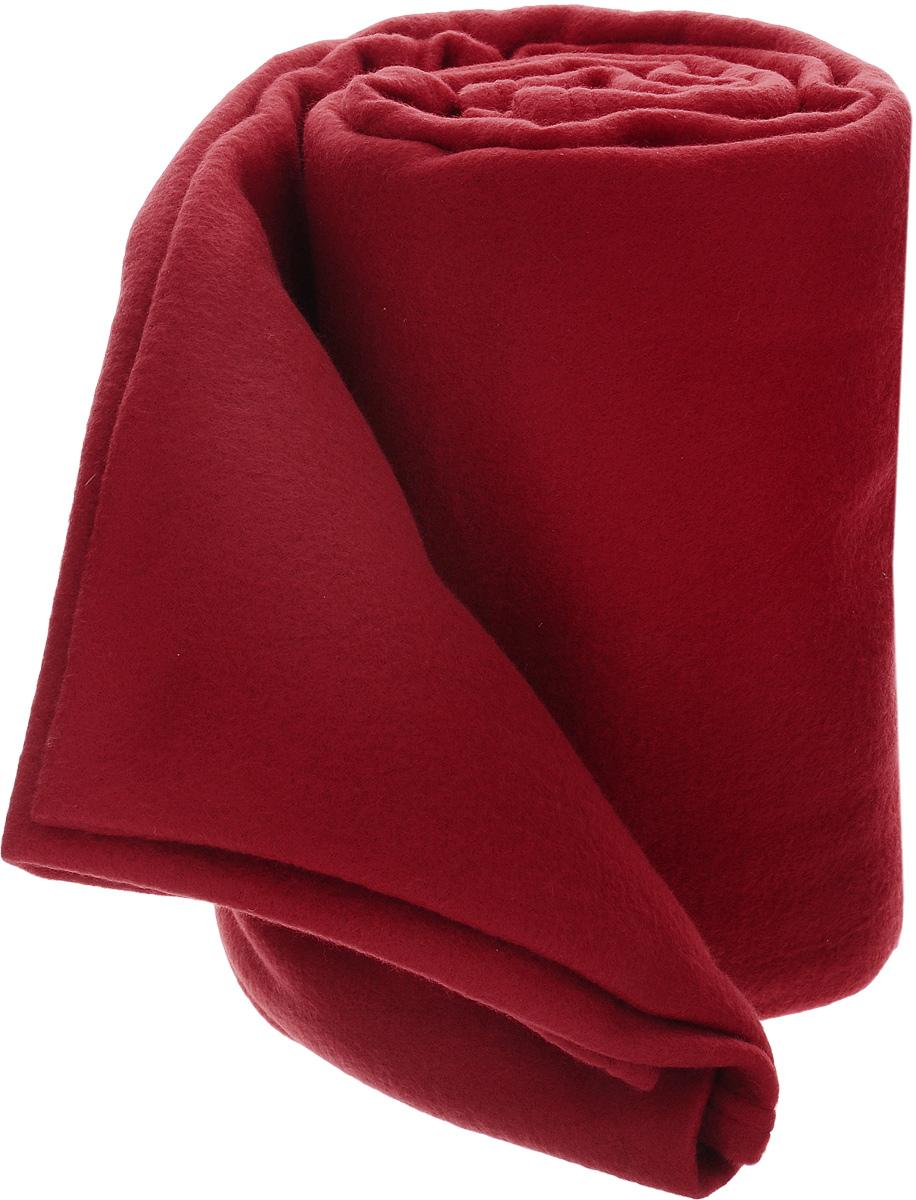 Покрывало флисовое Guten Morgen, цвет: темно-красный, 150 х 200 см78482Покрывало Guten Morgen, выполненное из флиса (100% полиэстер), гармонично впишется в интерьер вашего дома и создаст атмосферу уюта и комфорта. Благодаря мягкой и приятной текстуре, глубокому и насыщенному цвету, покрывало станет модной, практичной и уютной деталью вашего интерьера.Такое покрывало согреет в прохладную погоду и будет превосходно дополнять интерьер вашей спальни. Высочайшее качество материала гарантирует безопасность не только взрослых, но и самых маленьких членов семьи.Покрывало может подчеркнуть любой стиль интерьера, задать ему нужный тон - от игривого до ностальгического. Покрывало - это такой подарок, который будет всегда актуален, особенно для ваших родных и близких, ведь вы дарите им частичку своего тепла!