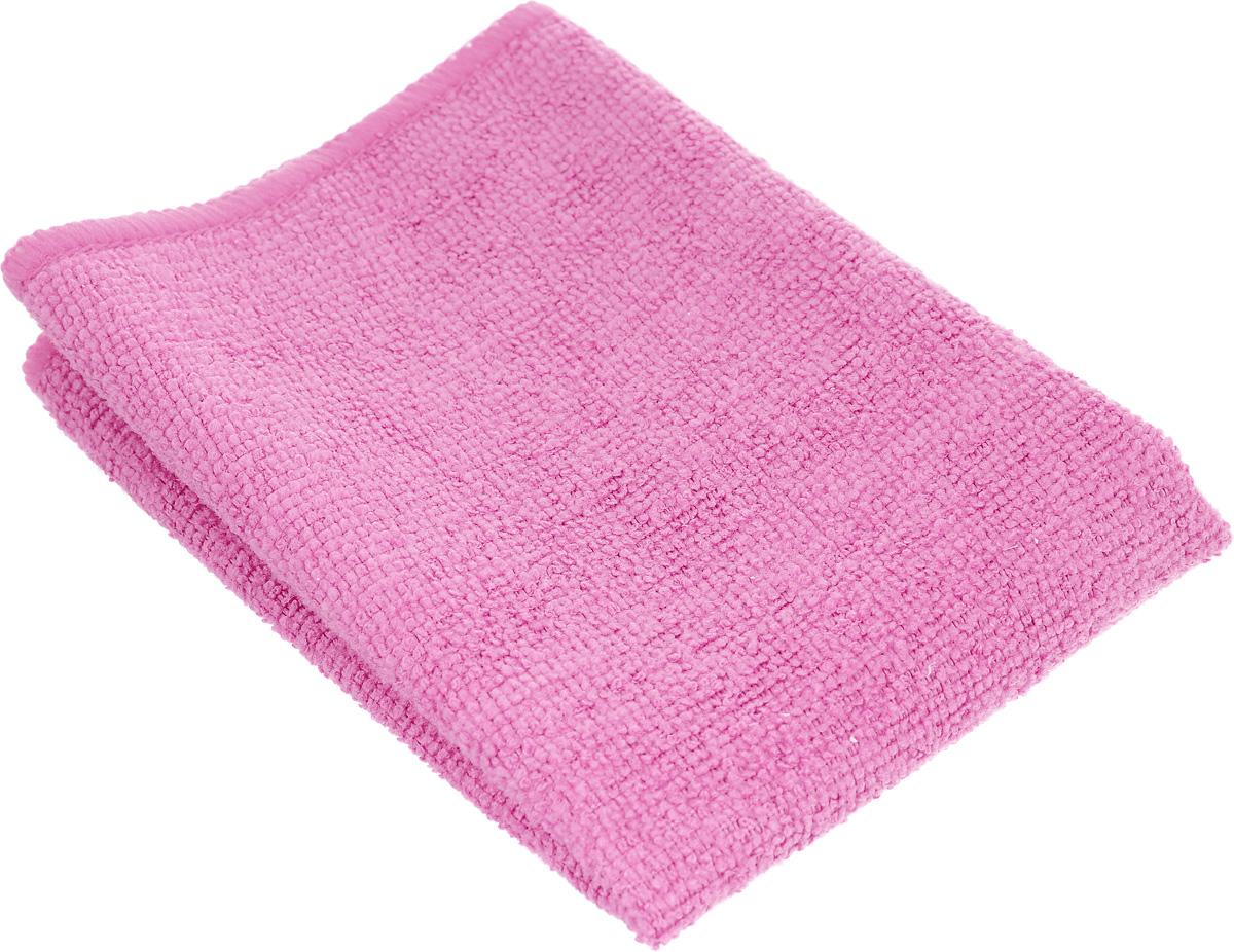 Салфетка универсальная Magic Power, из микрофибры, цвет: розовый, 35 х 30 см531-105Салфетка Magic Power, изготовленная из микрофибры (75% полиэстера и 25% полиамида), предназначена для сухой и влажной уборки. Подходит для ухода за любыми поверхностями. Благодаря специальной структуре волокон справляется с любыми загрязнениями. Не оставляет разводов и ворсинок. Обладает отличными впитывающими свойствами.Размер салфетки: 35х 30 см.
