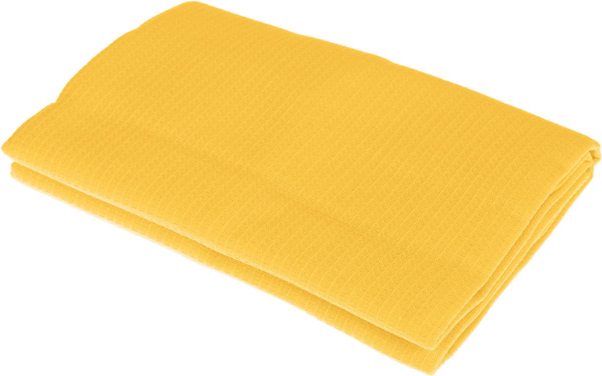 Полотенце-простыня для бани и сауны Банные штучки, цвет: желтый, 80 х 150 см391602Вафельное полотенце-простыня для бани и сауны Банные штучки изготовлено из натурального хлопка. В парилке можно лежать на нем, после душа вытираться, а во время отдыха использовать как удобную накидку. Такое полотенце-простыня идеально подойдет каждому любителю бани и сауны.