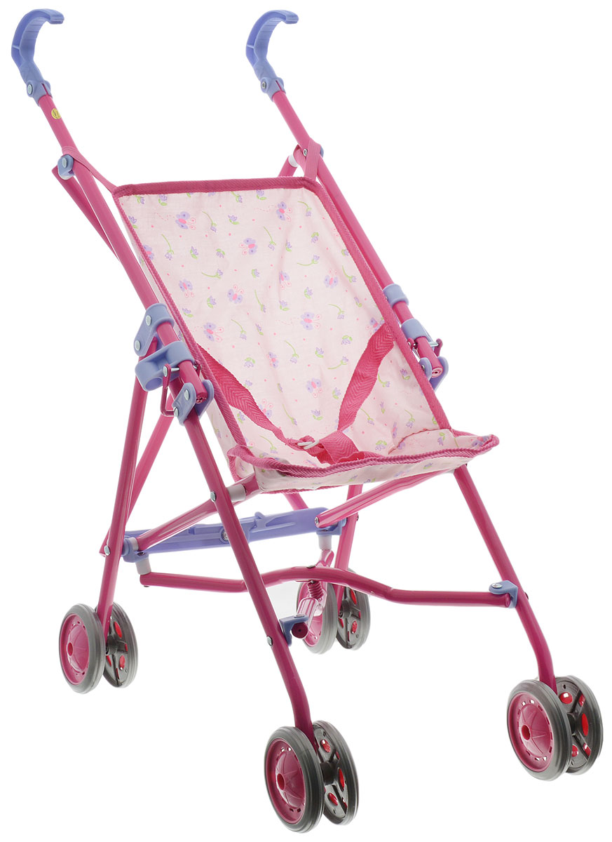 Simba Коляска для кукол New Born Baby розовый