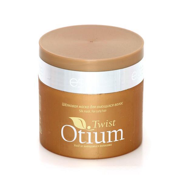 Estel Otium Twist Шелковая маска для вьющихся волос 300 млFS-00897Estel Otium Twist Шелковая маска для вьющихся волос. Кремовая маска с комплексом Twist Cаre, коллагеном и протеинами шёлка интенсивно ухаживает за вьющимися волосами, увлажняет и питает их. Придаёт волосам роскошную мягкость и шелковистость, наполняет блеском.Обеспечивает управляемость непослушных локонов и облегчает создание любого фантазийного стайлинга.