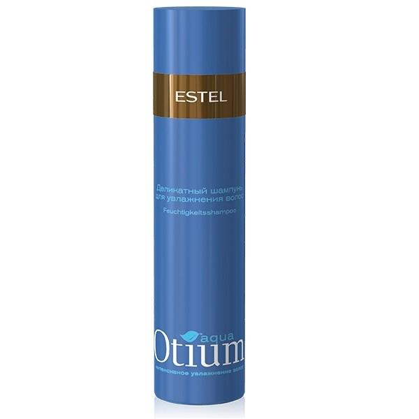 Estel Otium Aqua Mild - Шампунь для волос увлажняющий 250 мл (безсульфатный)FS-00897Estel Otium Aqua Mild - шампунь для волос увлажняющий бережно очищает волосы, подходит для ежедневного применения. Поддерживает естественный гидро - липидный баланс кожи головы, укрепляет структуру волос.Мощный увлажняющий комплекс True Aqua Balance с натуральным бетаином и аминокислотами улучшает состояние сухих, повреждённых волос, способствует удержанию влаги внутри волоса, не утяжеляя его. Делает волосы шелковистыми, здоровыми, придает мягкость и блеск.Обладает антистатическим эффектом. Не содержит лаурет сульфат натрия (новая современная тенденция в сегменте моющих средств по уходу за волосами и телом).
