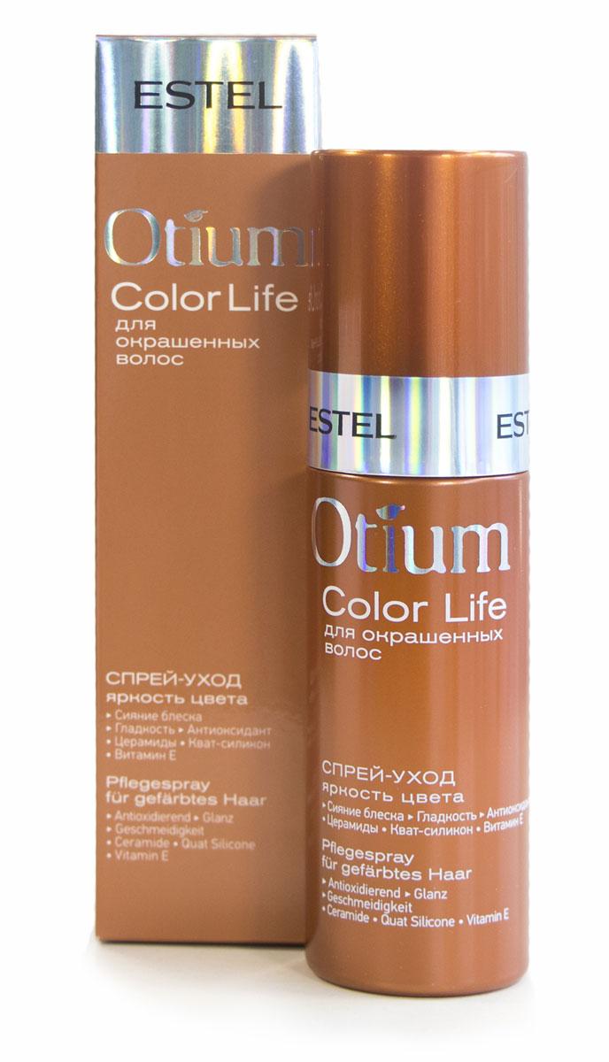 Estel Otium Blossom - Спрей-уход для окрашенных волос Яркость цвета 100 мл21188405Estel Otium Aqua Спрей - кондиционер для волос увлажняющий - несмываемый уход. Он эффективно увлажняет сухие волосы, приглаживает чешуйки, выравнивает кутикулу. Хорошо кондиционирует, придает блеск.Обладает антистатическим эффектом.В результате эластичные, блестящие волосы и естественная укладка.