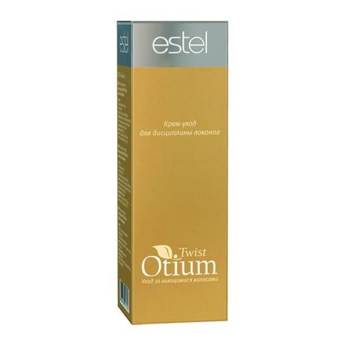 Estel Otium Twist Крем-уход для дисциплины локонов 100 млOTM.4Estel Otium Twist Крем - уход для дисциплины локонов. Комплекс Twist Order и протеины шёлка оживляют, защищают и увлажняют как натурально вьющиеся, так и химически завитые волосы.Обеспечивает идеальную форму и великолепный контроль завитка при сушке феном или диффузором. Восстанавливает природную структуру волоса, нормализует гидробаланс, возвращая локонам естественную силу и блеск.