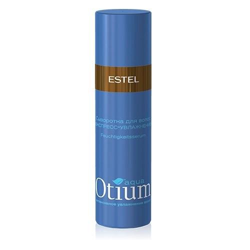 Estel Otium Aqua Легкая увлажняющая сыворотка для волос 100 млFS-00897Estel Professional Otium Aqua Лёгкая увлажняющая сыворотка- несмываемый уход:приглаживает кутикулу сухих, ломких волос,увлажняет пересушенные кончики, склеивает их,контролирует непослушные волосы,делает их подвижными и управляемыми,не перегружает волосы,защищает от неблагоприятных внешних воздействий,обладает антистатическим эффектом,придает блеск.В результате гладкие блестящие волосы и ухоженный вид пречески.