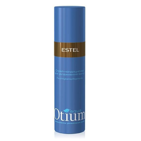 Estel Otium Aqua Спрей-кондиционер для волос увлажняющий 200 млOT.125Estel Otium Aqua Спрей - кондиционер для волос увлажняющий - несмываемый уход. Он эффективно увлажняет сухие волосы, приглаживает чешуйки, выравнивает кутикулу. Хорошо кондиционирует, придает блеск.Обладает антистатическим эффектом.В результате эластичные, блестящие волосы и естественная укладка.
