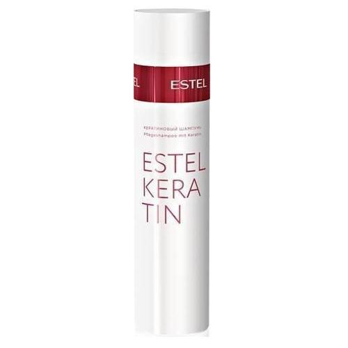 Estel Thermokeratin - Кератиновый шампунь для волос 250 млEK/S2Тип волос: Все Первый, подготовительный этап процедуры кератинизации волос TERMOKERATIN. Профессиональный шампунь для восстановления и кератинизации волос. Деликатно очищает волосы и кожу головы.Содержит гидролизованный кератин.Результат: Восстанавливает качество волос, обеспечивает волосам эластичность и мягкость.