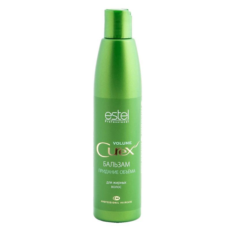 Estel Curex Volume Бальзам для придания объема для жирных волос 250 млFS-00897Бальзам для придания объема Estel Curex Volume для жирных волос cодержит сбалансированный витаминный комплекс, увлажняет и питает волосы, придает им эластичность. Обладает превосходным кондиционирующим эффектом, облегчает расчесывание.Результат:Великолепный объемШелковистые блестящие волосыЛегкость расчесывания.