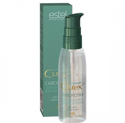 Estel Curex Therapy Сыворотка для секущихся кончиков волос 100 млE0954500Estel Curex Therapy Сыворотка для секущихся кончиков волос. Сыворотка с природным биополимером восстанавливает поврежденные и секущиеся кончики волос. Содержит хитозан, провитамин В5 и глицерин. Восстанавливает, увлажняет и питает волосы, придает здоровый блеск.