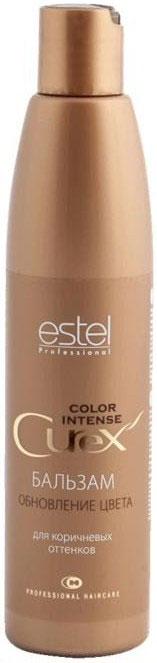 Estel Curex Color Intense Бальзам Обновление цвета для коричневых оттенков 250 млFS-00897Бальзам «Обновление Цвета» для коричневых оттенков Estel Curex Color Intense подчеркивает глубину цвета, защищает волосы от внешних воздействий. Витаминный комплекс обеспечивает активное увлажнение и питание, восстанавливает природный гидробаланс и структуру волос.Результат:Сияющий цветШелковистые упругие волосы.
