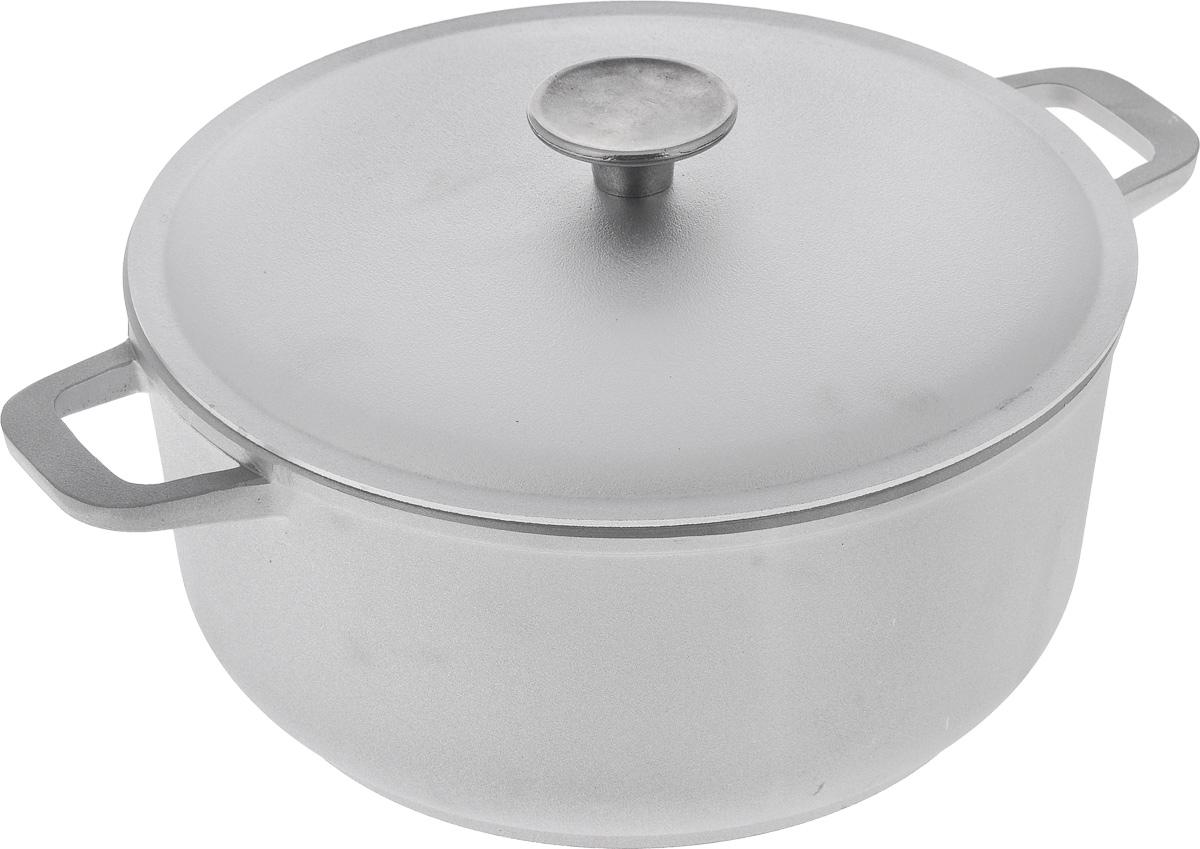 Кастрюля Биол с крышкой, 4 л68/5/3Кастрюля Биол изготовлена из литого алюминия с утолщенным дном. Посуда равномерно и быстро нагревается, позволяя существенно сократить время приготовления пищи. Изделие оснащено плотно прилегающей крышкой, позволяющей сохранить аромат готовящегося блюда.Кастрюля снабжена эргономичными ручками. Нельзя оставлять приготовленную пищу в посуде для хранения. Подходит для газовых, электрических и стеклокерамических типов плит, кроме индукционных. Рекомендовано мыть вручную. Диаметр по верхнему краю: 25 см. Ширина (с учетом ручек): 33 см.Высота стенки: 11,5 см.Толщина стенки: 5 м. Толщина дна: 5 мм. Диаметр основания: 20 см.