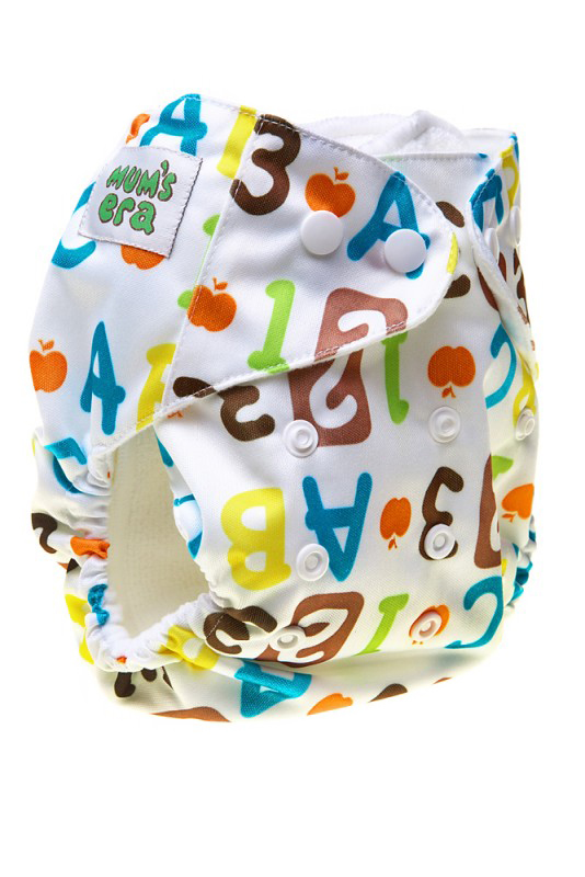 Mum's Era Многоразовый подгузник Математика с вкладышами mum s era многоразовый подгузник цвет сиреневый 2 вкладыша