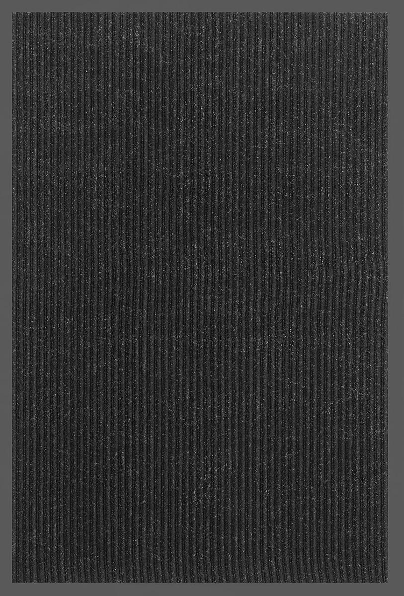 Коврик придверный SunStep Ребристый, влаговпитывающий, цвет: черный, 90 х 60 см14809Влаговпитывающий придверный коврик SunStep Ребристый выполнен из высококачественных полимерных материалов. Он прост в обслуживании, прочный и устойчивый к различным погодным условиям. Лицевая сторона коврика мягкая. Прорезиненная основа предотвращает его скольжение по гладкой поверхности и обеспечивает надежную фиксацию. Такой коврик надежно защитит помещение от уличной пыли и грязи.