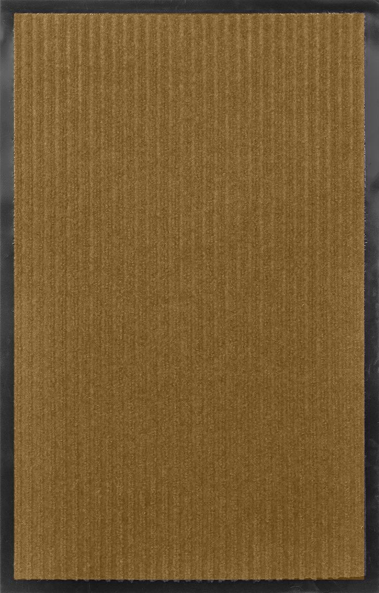Коврик придверной SunStep Ребристый, влаговпитывающий, цвет: бежевый, черный, 80 х 50 см22092Влаговпитывающий придверный коврик SunStep Ребристый выполнен из высококачественных полимерных материалов. Он прост в обслуживании, прочный и устойчивый к различным погодным условиям. Лицевая сторона коврика мягкая. Прорезиненная основа предотвращает его скольжение по гладкой поверхности и обеспечивает надежную фиксацию. Такой коврик надежно защитит помещение от уличной пыли и грязи.