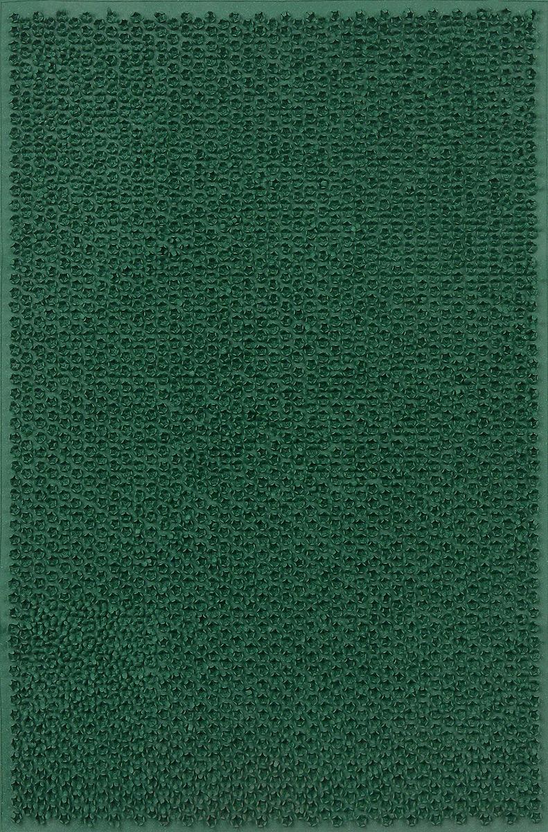 Коврик придверный SunStep Травка, цвет: зеленый, 60 х 40 см20-464Придверный коврик SunStep Травка, выполненный из резины, прост в обслуживании, прочный и устойчивый. Конструкция коврика имеет специальную поверхность, которая помогает более эффективно удалить грязь с обуви. Его основа предотвращает скольжение по гладкой поверхности и обеспечивает надежную фиксацию. Такой коврик надежно защитит помещение от уличной пыли и грязи.