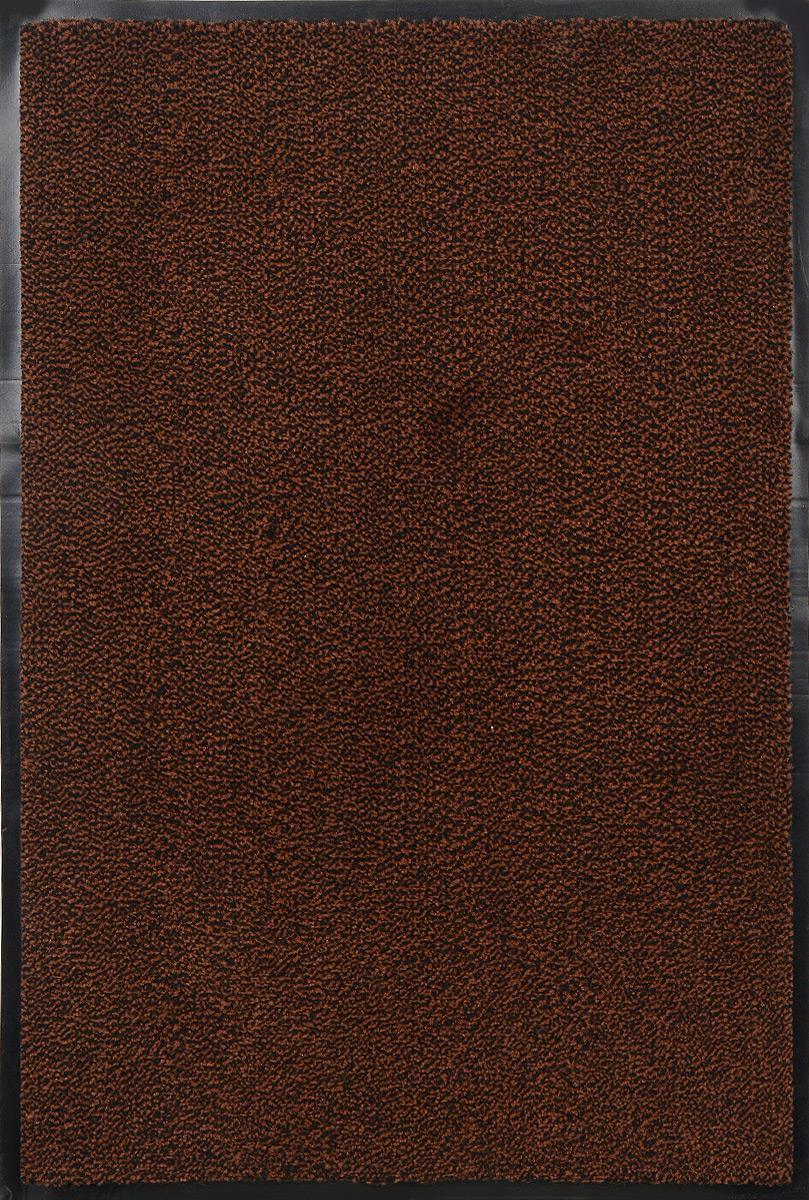 Коврик придверный SunStep Professional, влаговпитывающий, цвет: коричневый, черный, 90 х 60 смTHN132NВлаговпитывающий придверный коврик SunStep Professional выполнен из высококачественных полимерных материалов. Он прост в обслуживании, прочный и устойчивый к различным погодным условиям. Лицевая сторона коврика мягкая. Прорезиненная основа предотвращает его скольжение по гладкой поверхности и обеспечивает надежную фиксацию. Такой коврик надежно защитит помещение от уличной пыли и грязи.