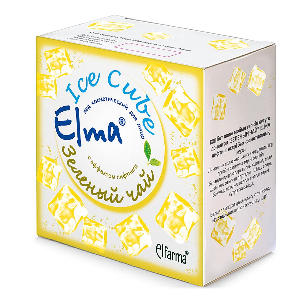 Elma Косметический лед для лица Зеленый ЧайFS-36054С эффектом лифтинга. Специальная формула включает натуральные экстракты лимонника и зеленого чая. Не только освежает и тонизирует кожу, но и подтягивает ее, делая упругой и красивой. Не содердит спирта, красителей, подходит для ухода за кожей любого типа. В коробке два блистера, 12 штук по 10 мл.