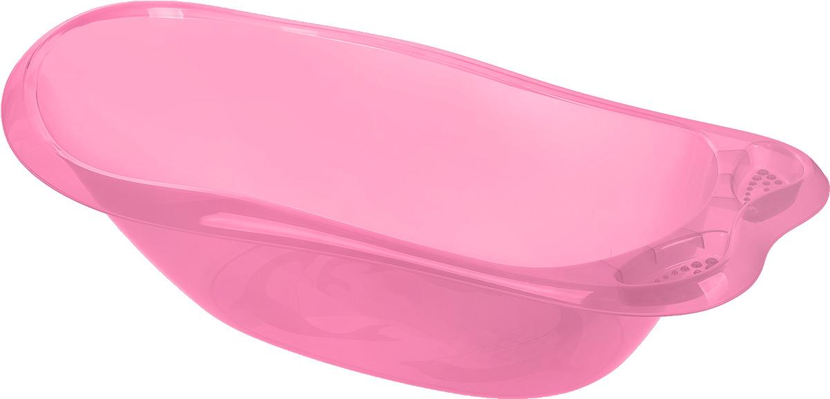 Idea Ванночка детская Океаник цвет розовый 86 см х 21 см х 52 см -  Ванны