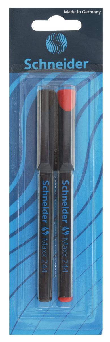 Schneider Маркер для CD Maxx 244 2 штFS-36052Набор маркеров для CD Schneider Maxx 244 с шириной линии 0,7 мм предназначен для письма на CD и DVD дисках и других ровных поверхностях. Быстросохнущие чернила устойчивы к истиранию и воздействию воды, а корпус маркеров изготовлен из прочного пластика.