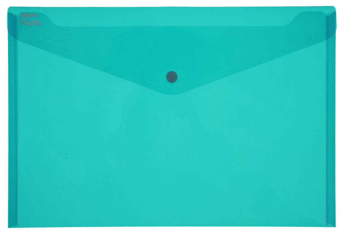 Snopake Папка-конверт на кнопке Polyfile Electra цвет зеленый формат А485466Папка-конверт на кнопке Snopake Polyfile Electra - это удобный и функциональный офисный инструмент, предназначенный для хранения и транспортировки рабочих бумаг и документов формата А4. Папка изготовлена из прозрачного пластика, закрывается клапаном на кнопке. Папка-конверт - это незаменимый атрибут для студента, школьника, офисного работника. Такая папка надежно сохранит ваши документы и сбережет их от повреждений, пыли и влаги.