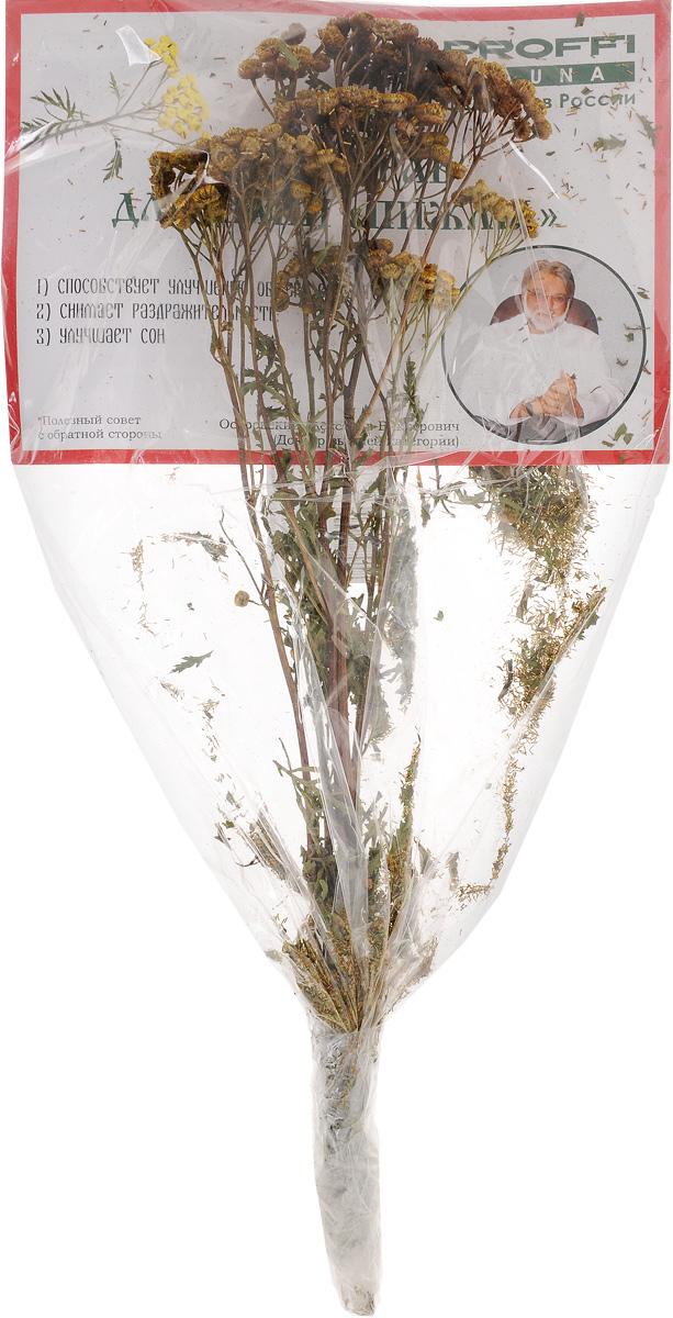 Сбор трав для бани Proffi ПижмаRSP-202SСбор трав для бани Proffi Пижма способствует улучшению обмена веществ, создает в парной неповторимый аромат, снимает раздражительность и улучшает сон. Перед применением высушенный веник необходимо сначала ополоснуть несколько раз в теплой или даже прохладной воде.Дать настояться 10-15 минут. Полученный состав плеснуть на раскаленные камни.
