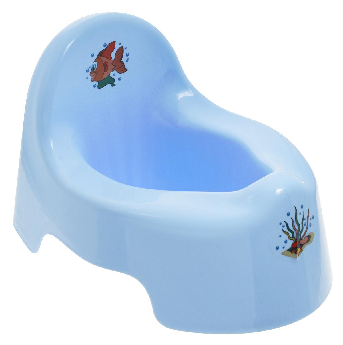 Idea Горшок детский цвет голубой