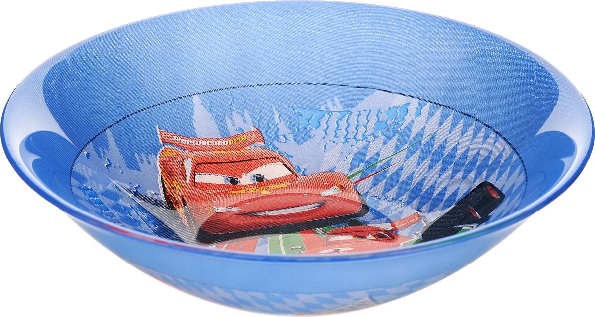 Миска Luminarc Disney Cars 2, диаметр 16,5 смH1494Миска Luminarc Disney Cars 2 выполнена из высококачественного стекла. Она прекрасно впишется в интерьер вашей кухни и станет достойным дополнением к кухонному инвентарю. Миска Luminarc Disney Cars 2 отлично подойдет для вашего ребенка. Диаметр миски (по верхнему краю): 16,5 см. Высота стенки: 4,5 см.