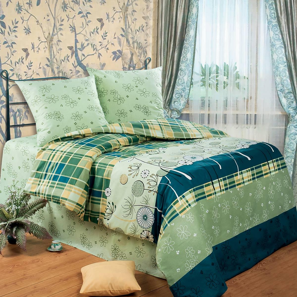 Комплект белья Любимый дом Гербарий, 2-х спальное, наволочки 70 х 70, цвет: зеленый. 3214202200ППостельное белье торговой марки «Любимый дом» - это идеальное сочетание доступной цены и высокого качества продукции. Серия «Любимый дом 3D» выполнена в технике объемного трехмерного изображения: объемные рисунки очень яркие, насыщенные и реалистичные. Коллекция выполнена из традиционной отечественной бязи с высоким показателем износостойкости: такое постельное белье очень прочное и долговечное, не деформируется при стирках и прослужит долгие годы.