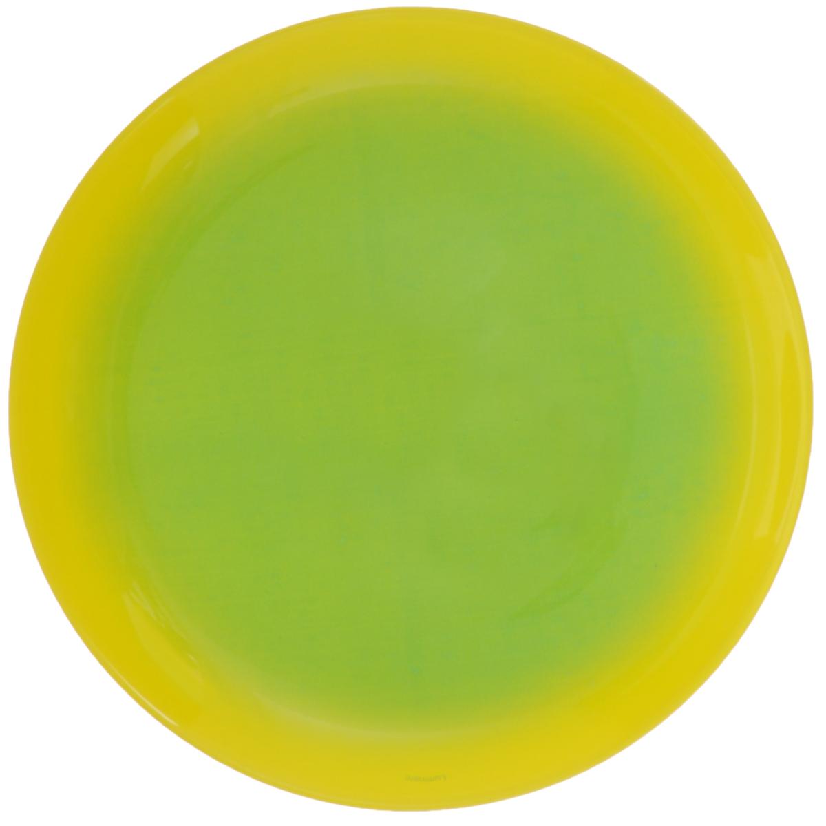 Тарелка десертная Luminarc Fizz Mint, диаметр 20 см54 009312Десертная тарелка Luminarc Fizz Mint, изготовленная из ударопрочного стекла, имеет изысканный внешний вид. Такая тарелка прекрасно подходит как для торжественных случаев, так и для повседневного использования. Идеальна для подачи десертов, пирожных, тортов и многого другого. Она прекрасно оформит стол и станет отличным дополнением к вашей коллекции кухонной посуды. Диаметр тарелки (по верхнему краю): 20 см.