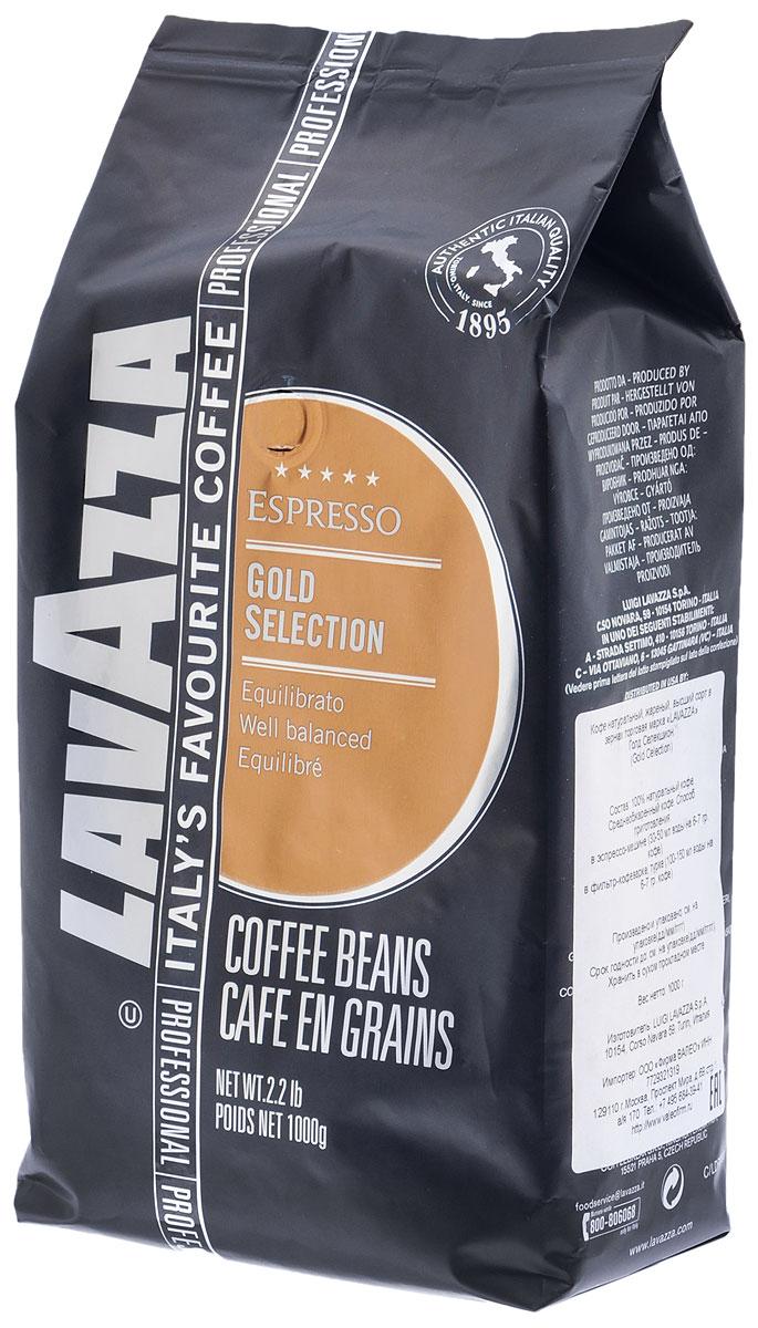 Lavazza Gold Selection кофе в зернах, 1 кг0120710Хорошо сбалансированная смесь арабики и робусты в кофе Lavazza Gold Selection идеально подходит для употребления после десерта, подчеркивая его вкус и оставляя шоколадное послевкусие.