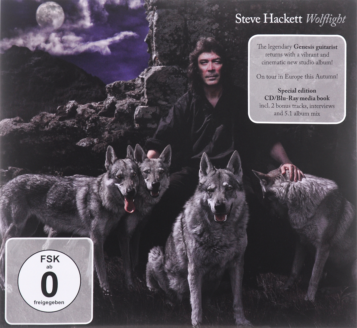Стив Хэкетт Steve Hackett. Wolflight. Special Edition (CD + Blu-ray) a farewell to arms the special edition