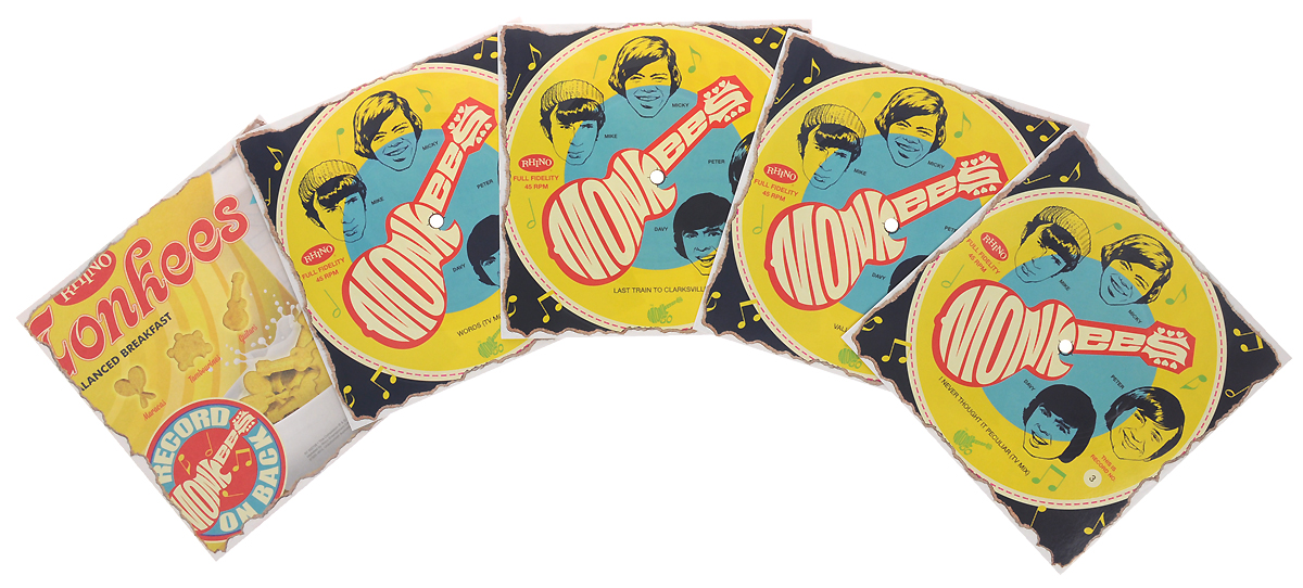 The Monkees The Monkees. Cereal Box Record Set. Four Limited Edition (4 LP) we love disney limited edition 2 cd dvd 4 lp