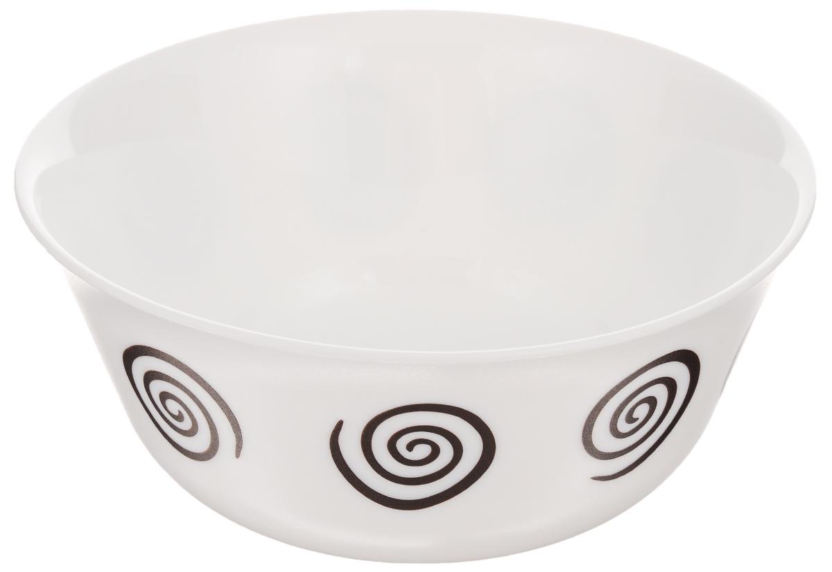 Салатник Luminarc Sirocco Brown, диаметр 12 см68/5/3Салатник Luminarc Sirocco Brown, изготовленный из высококачественного стекла, прекрасно впишется в интерьер вашей кухни и станет достойным дополнением к кухонному инвентарю. Салатник оформлен ярким рисунком и имеет изысканный внешний вид. Такой салатник не только украсит ваш кухонный стол и подчеркнет прекрасный вкус хозяйки, но и станет отличным подарком.Диаметр по верхнему краю: 12 см.