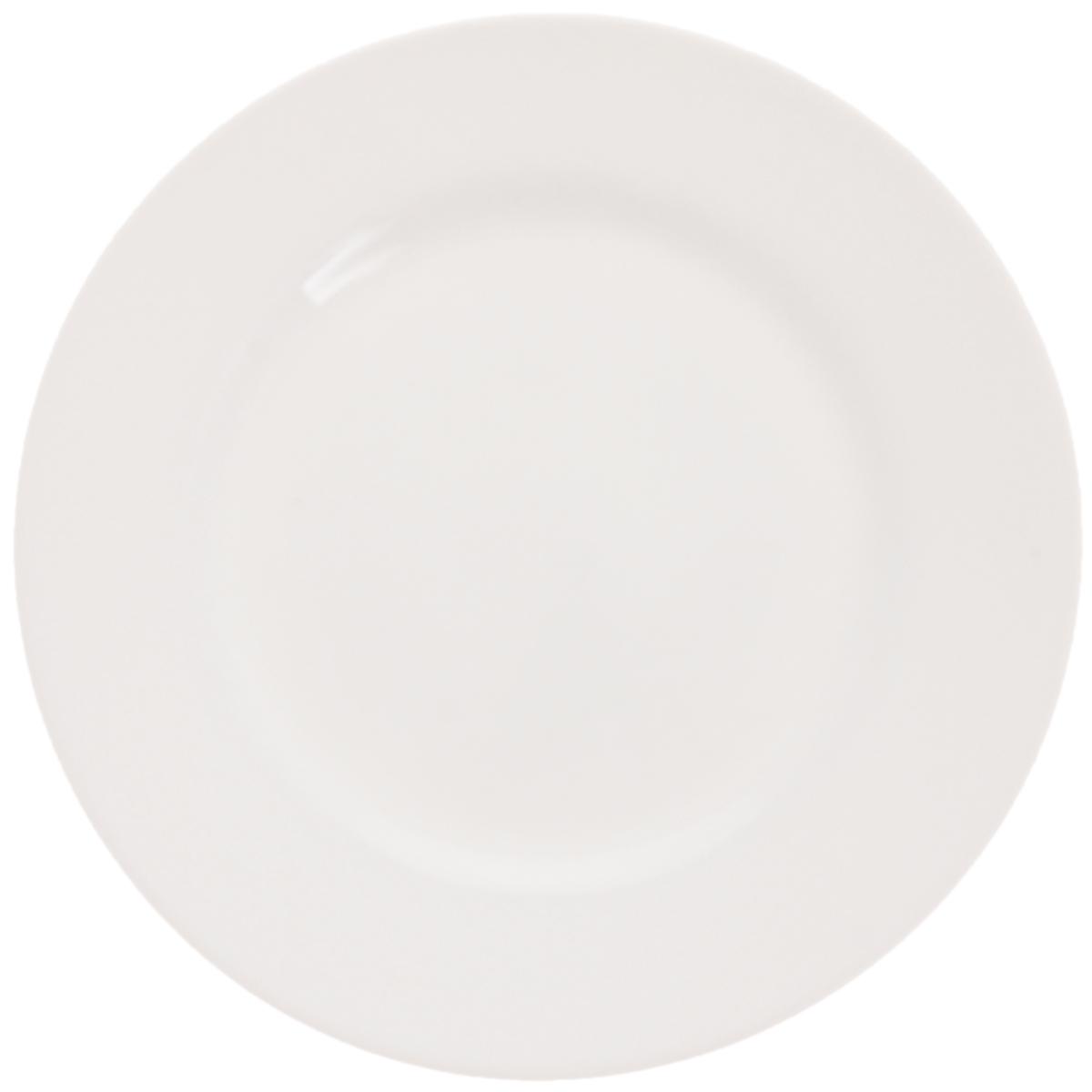 Тарелка десертная Luminarc Everyday, диаметр 19 см115610Десертная тарелка Luminarc Everyday выполнена из ударопрочного стекла. Дизайн придется по вкусу и ценителям классики, и тем, кто предпочитает утонченность и изысканность. Изделие идеально подойдет для сервировки стола и станет отличным подарком к любому празднику.Можно использовать в СВЧ-печи и мыть в посудомоечной машине. Диаметр (по верхнему краю): 19 см.