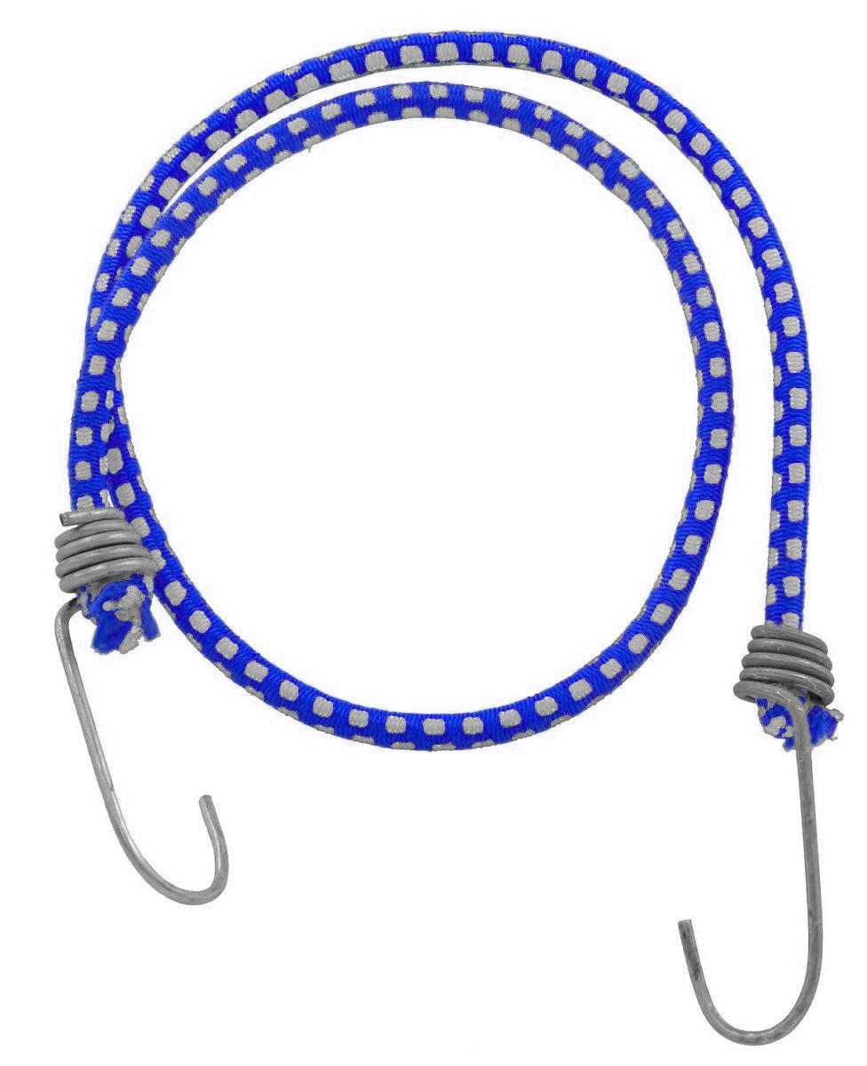 Резинка багажная МастерПроф, с крючками, цвет: синий, 0,6 х 80 см. АС.020051Ветерок 2ГФБагажная резинка МастерПроф, выполненная из натурального каучука, оснащена специальными металлическими крюками, которые обеспечивают прочное крепление и не допускают смещения груза во время его перевозки. Изделие применяется для закрепления предметов к багажнику. Такая резинка позволит зафиксировать как небольшой груз, так и довольно габаритный.Температура использования: -50°C до +50°C.Безопасное удлинение: 125%.Диаметр резинки: 0,6 см.Длина резинки: 80 см.УВАЖАЕМЫЕ КЛИЕНТЫ!Обращаем ваше внимание на возможные изменения в цвете рисунка товара. Поставка осуществляется в зависимости от наличия на складе.