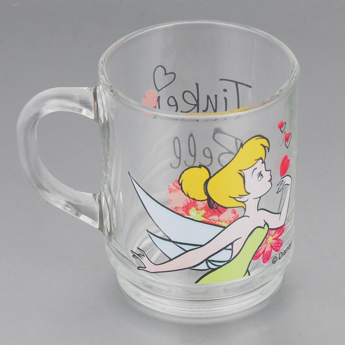 Кружка Luminarc Disney Tinker Bell, 250 млVT-1520(SR)Кружка Luminarc Disney Tinker Bell, изготовленная из прочного стекла, прекрасно подойдет для подачи горячих и холодных напитков. Она дополнит коллекцию вашей кухонной посуды и будет служить долгие годы. Диаметр кружки (по верхнему краю): 7 см. Высота стакана: 9 см.